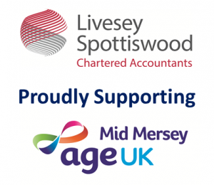 Livesey Spottiswood and Age UK Mid Mersey logos